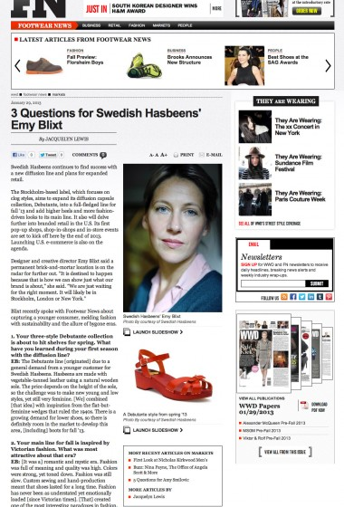 Swedish Hasbeens - Footwear News